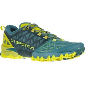 La Sportiva Bushido II Running Shoes Herr pine/kiwi